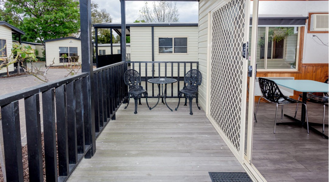 BIG4 Melbourne Accommodation One Bedroom Superior Cottage 2 berth 900px 01